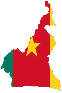 cameroon_flag_map